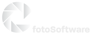 Cradoc fotoSoftware logo - white
