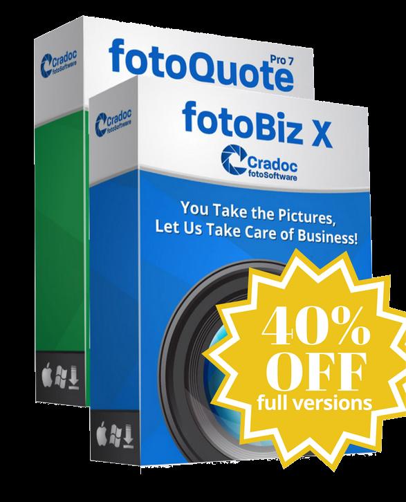Cradoc fotoSoftware fotoBiz X