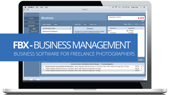 Business Software for Freelance Photographers