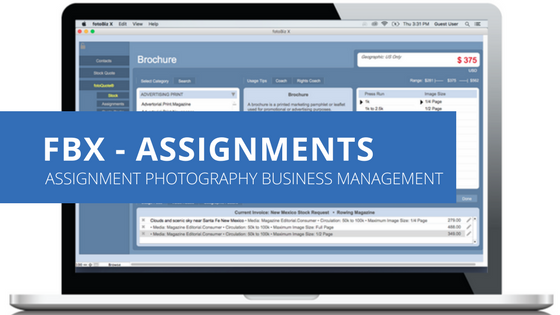Cradoc fotoBiz -includes fotoQuote - Assignment Photography Business Management