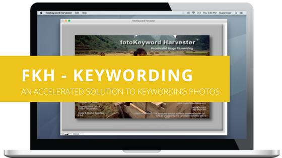 Cradoc fotoKeyword Harvester - An Accelerated Solution to Keywording Photos