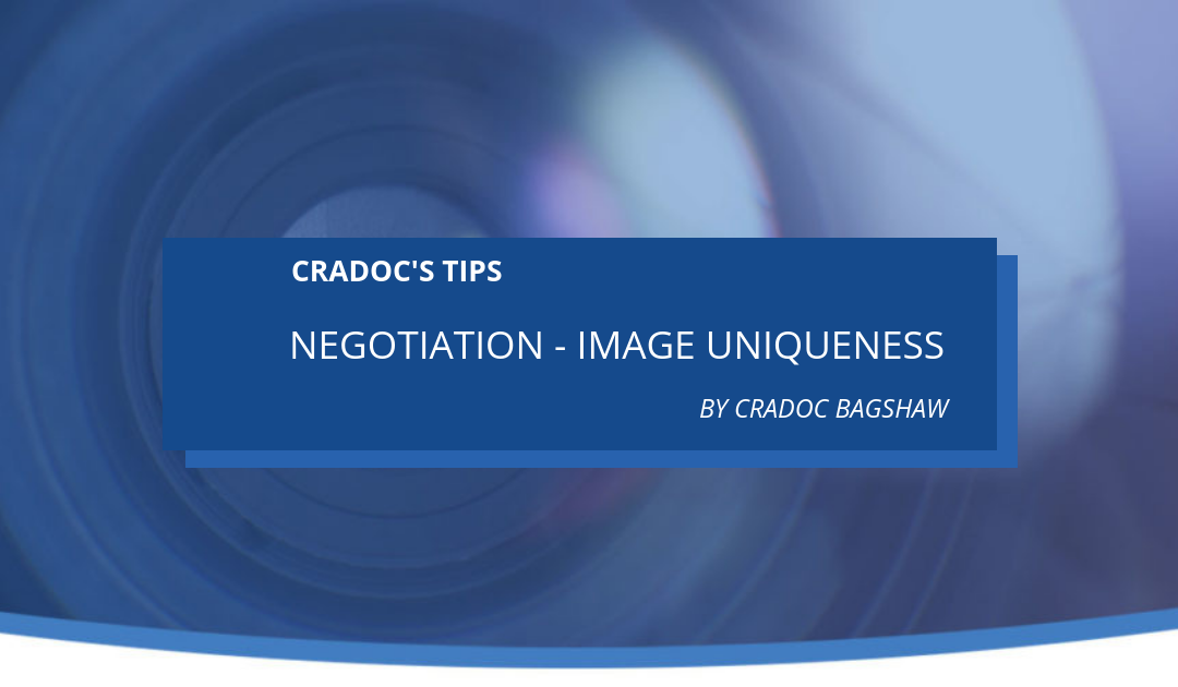 Negotiation – Image Uniqueness