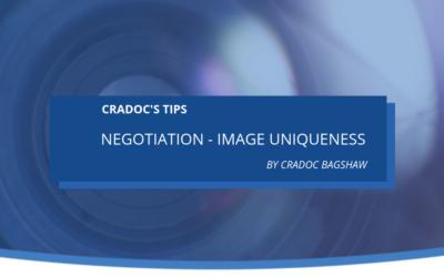 Negotiation – Image Uniqueness