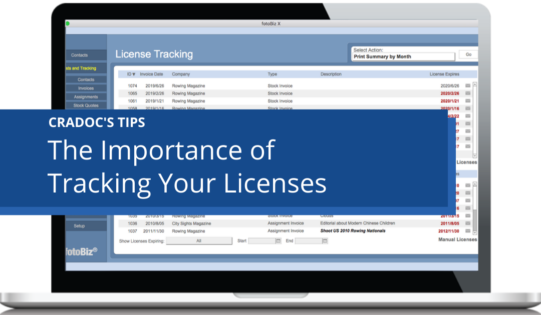 The Importance of Tracking Image Licenses